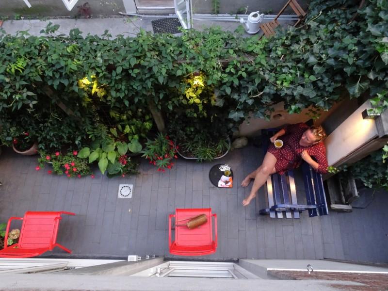 QGardens Tuinontwerp | Kleine binnenplaats