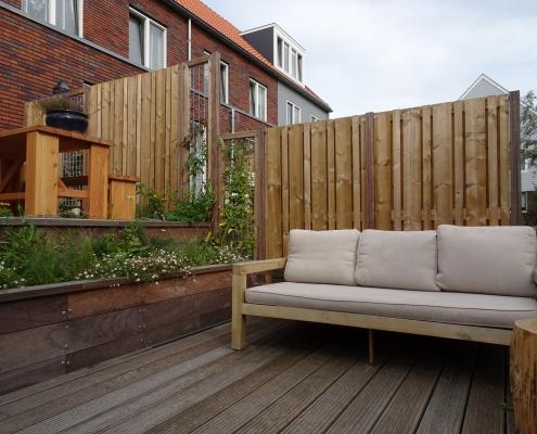 Stadstuin Amsterdam | Citygarden | Loungebank | Vlonder Terras | Prairieplanten | QGardens Tuinontwerp | Gardendesign