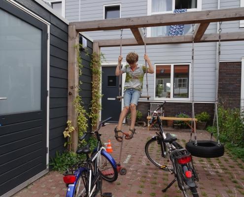 Stadstuin Amsterdam | Citygarden | Spelen | Parkeren | Regentuin | Rainproof | QGardens Tuinontwerp | Gardendesign