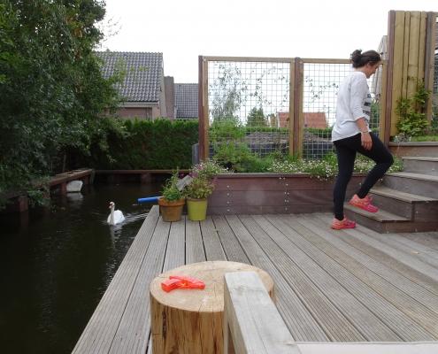 Stadstuin Amsterdam | Vlonder Aan Het Water | QGardens Tuinontwerp | Gardendesign