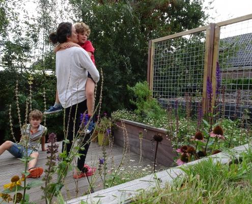 Stadstuin Amsterdam | Vlonder | Bloemen | QGardens Tuinontwerp | Gardendesign