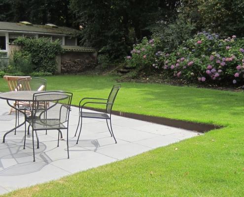 Terras Gras Cortenstaal Hoogteverschil | QGardens Tuinontwerp | Tuincoach | Gardendesign |Gardencoach