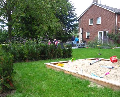 Zandbak Bij Appelschuur | QGardens Tuinontwerp | Tuincoach | Gardendesign | Gardencoach