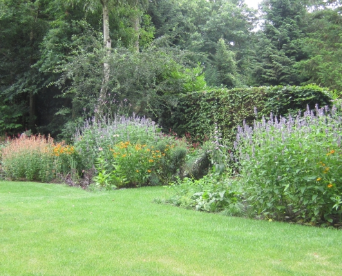 villatuin vaste planten border